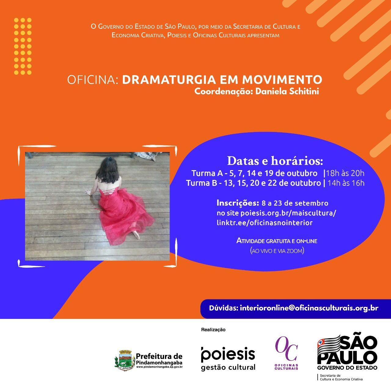 Oficina: Dramaturgia em movimento