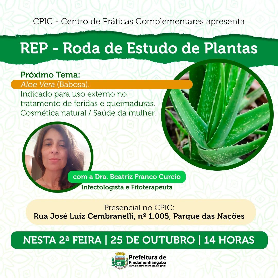 REP - Roda de Estudo de Plantas