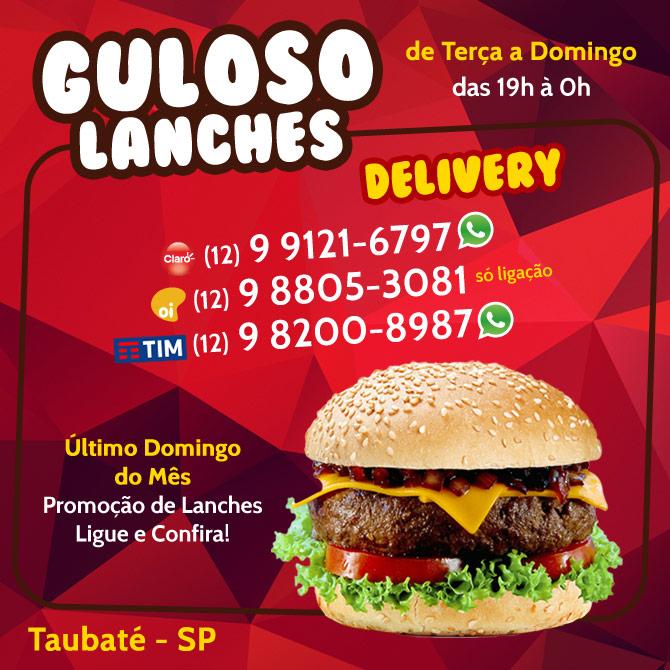 Guloso - Lanches