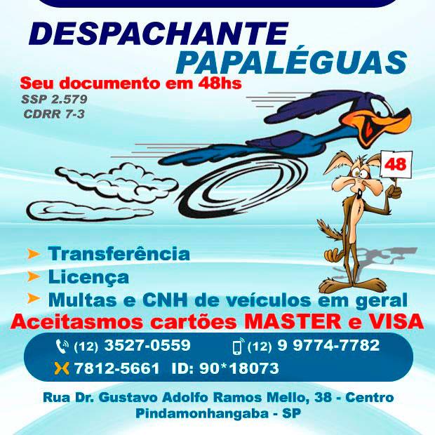 Visite nosso site : http://www.agoravale.com.br/despachantepapaleguas