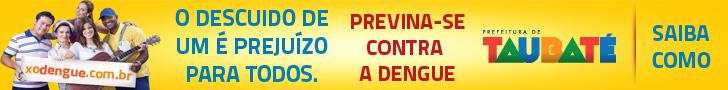 Visite nosso site : http://www.taubate.sp.gov.br/index.php/saude/dengue-notificacao