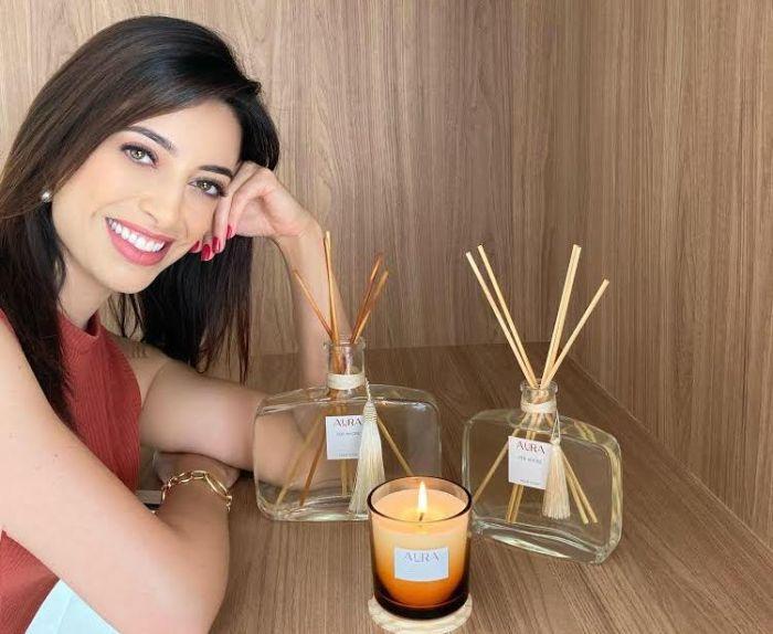 Ana Paula Torquetti lança linha de aromatizantes de ambiente.