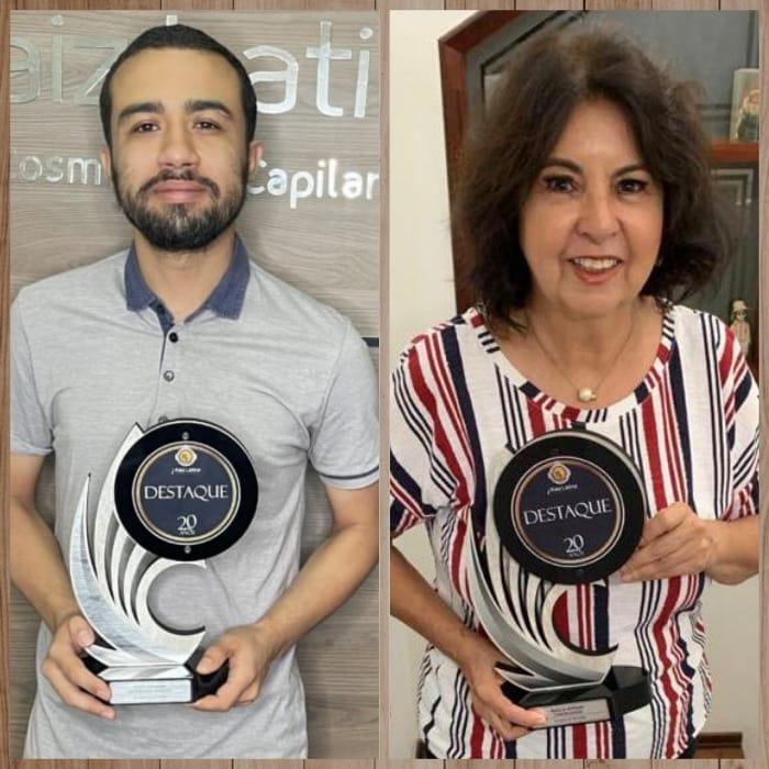 Agraciados: Celso Tadakuma e Marilda Serrano.
