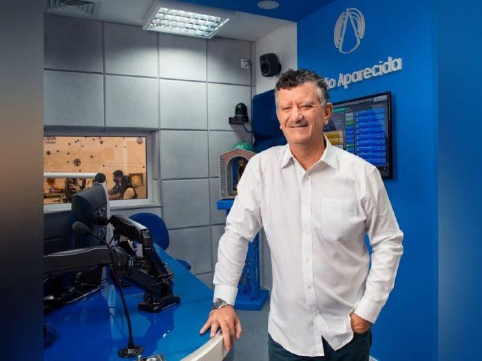 Padre Inácio Medeiros, diretor da Rádio Aparecida.