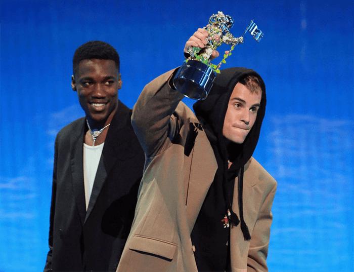 Justin Bieber no VMA 2021
