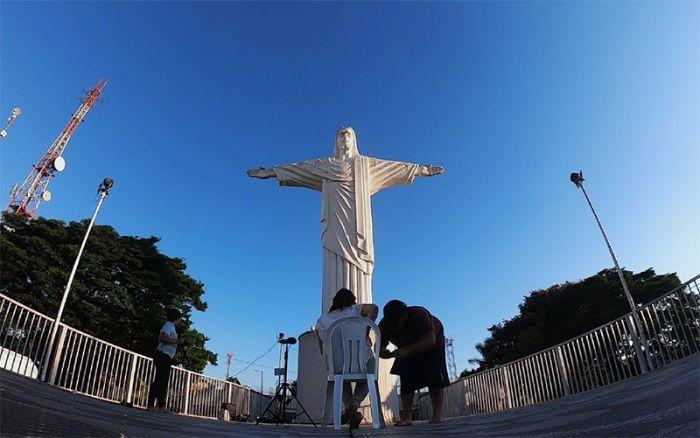 Gravação no Alto do Cristo - Taubaté - 23/01/2019