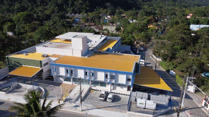 Hospital de Clínicas de São Sebastião - Costa Sul (HCSS-CS), em Boiçucanga