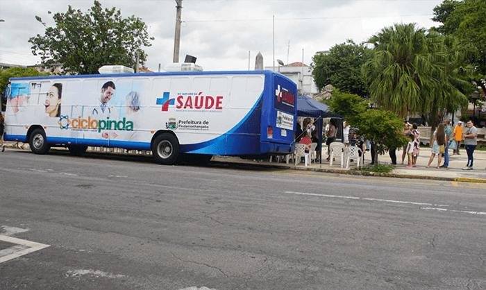 Em Pinda, ônibus da saúde ofereceatendimento para prevenção do câncer bucal na próxima semana