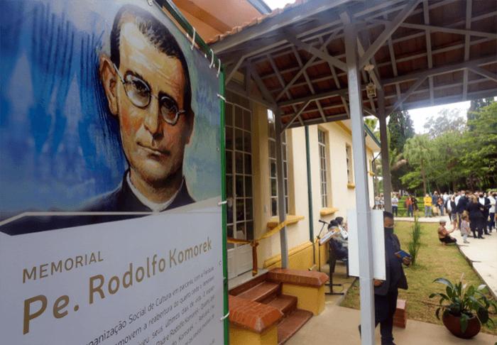 Memorial do Padre Rodolfo Komorek, reaberto ao público nesta semana, será uma das atrações da visita guiada ao Vicentina Aranha neste sábado (16) - Foto: Adenir Britto/PMSJC