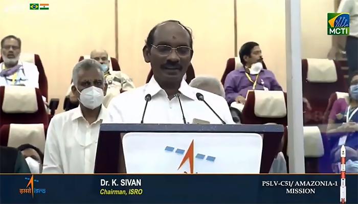 Kailasavadivoo Sivan, cientista espacial e presidente da Organização de Pesquisa Espacial Indiana (ISRO)
