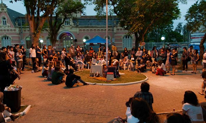 Primeira edição do evento em 2017 na Praça Condessa de Frontin Foto: Head Label