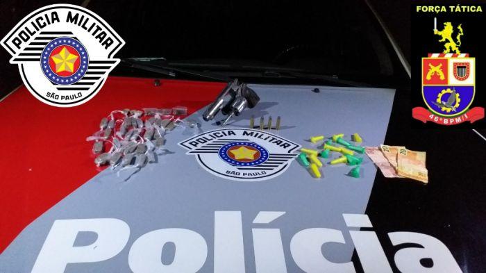 Homem é preso por tráfico de drogas em São José dos Campos.