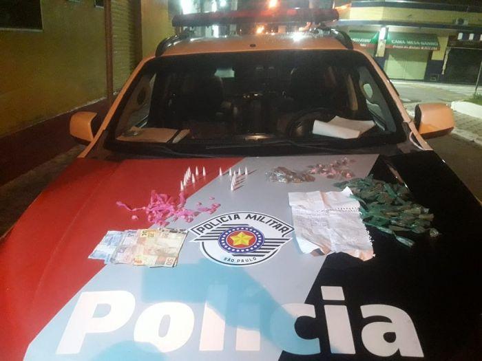 Homem é preso por tráfico de drogas em Caçapava.