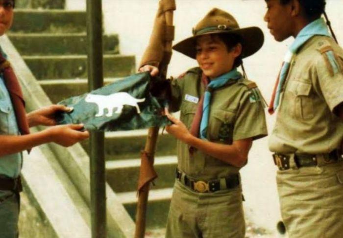 Escoteiro Marco Aurélio, desaparecido há 36 anos.
