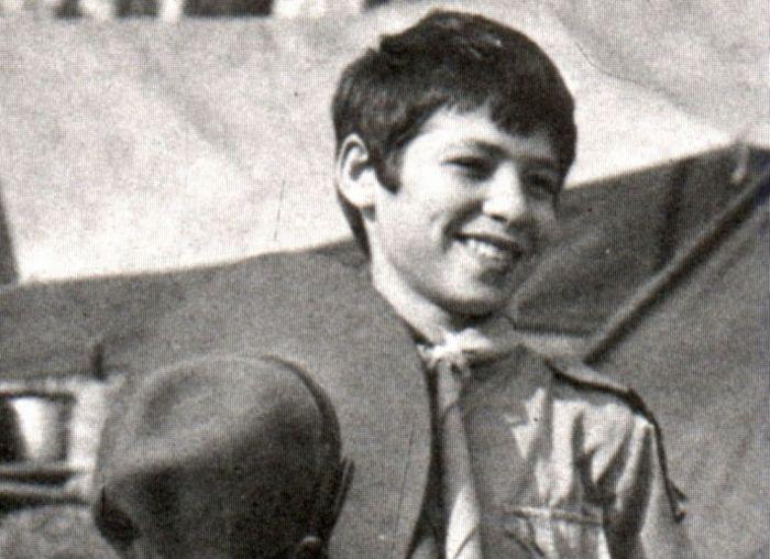 Marco Aurélio Simon, 15 anos, desapareceu no Pico dos Marins em 1985.