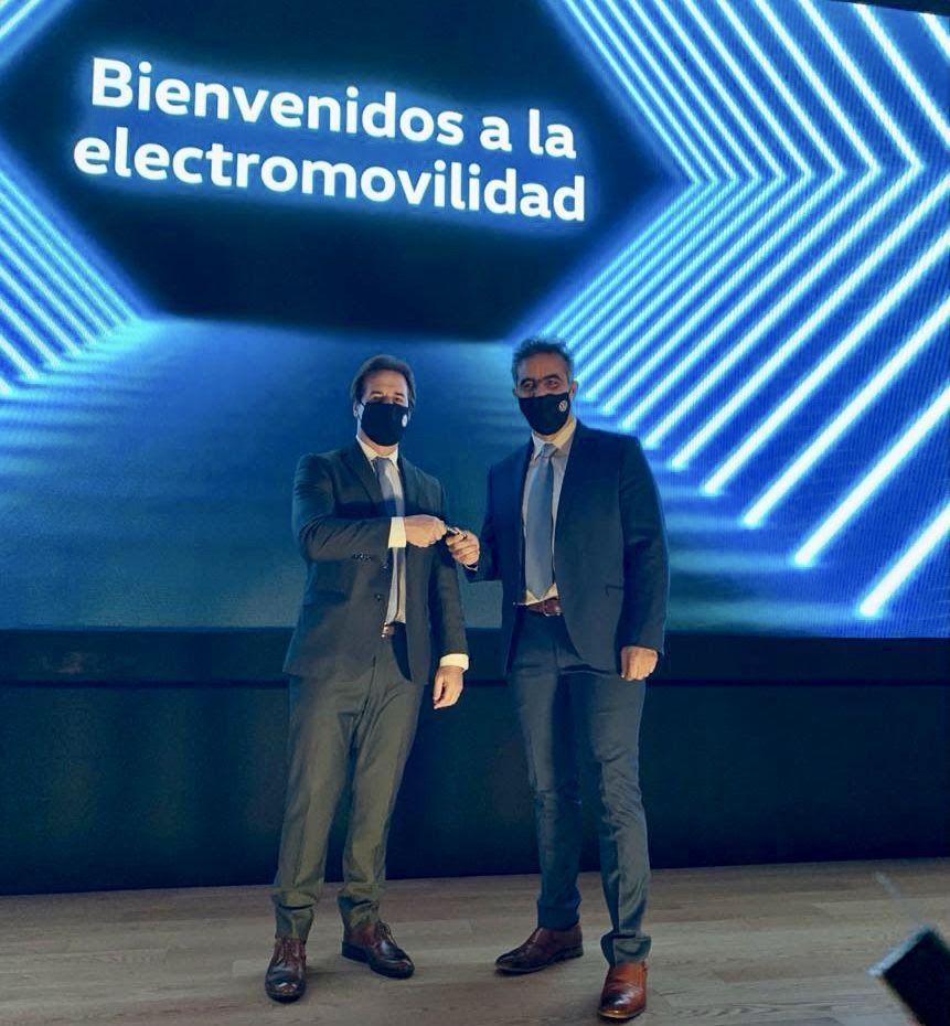 Luis Lacalle Pou, presidente do Uruguai, e Pablo Di Si