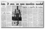"""""""João Menino Passarinho que nasceu para voar""""!"""