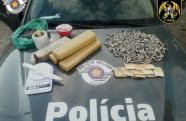 BAEP prende casal que armazenava drogas em casa em São José dos Campos