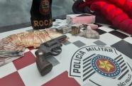 Polícia Militar prende autor de roubo em Aparecida