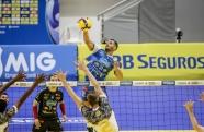 EMS Taubaté Funvic vence Pacaembu Ribeirão e avança para a semifinal do troféu Super Vôlei Banco do Brasil