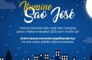 São José dos Campos será iluminado para o Natal