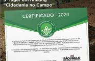 """São Bento conquista 3º lugar no ranking """"Cidadania no Campo"""""""