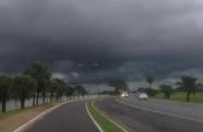 Risco de chuva forte em quase todo o Brasil