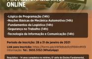 Prefeitura de Caçapava e SENAI oferecem 625 vagas para cursos gratuitos online