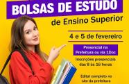 Prefeitura de Pinda abre 18 vagas para bolsas de estudo universitário