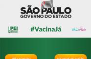 Governo de SP lança o site Vacina Já para pré-cadastro da campanha de imunização contra COVID-19