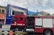 Incêndio atinge uma das lojas Marabraz em Jacareí