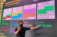 Governo de São Paulo antecipa cronograma de vacinação contra covid-19 em 30 dias