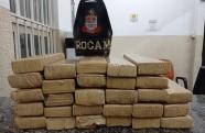 PM apreende mais de 26,5 kg de maconha em São José dos Campos; ninguém foi preso