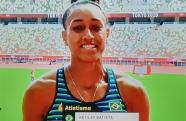 Ketiley Batista ficana 9º colocação em sua primeira participação nos jogos olímpicos