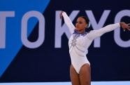 Rebeca Andrade é a primeira ginasta brasileira a conquistar o ouro nas Olímpíadas