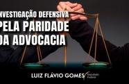 Investigação defensiva: pela paridade da advocacia