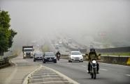 Chegada de frente na terça-feira feira provoca queda de temperatura na região