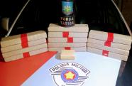 PM prende procurado e apreende 15 kg de maconha no bairro Maria Áurea em Pindamonhangaba