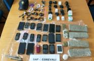 Agentes penitenciários apreendem mais de 2,3 quilos de drogas na área externa do CPP de Tremembé