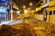 Tradicional rua Dr. Martiniano passa por revitalização em Guaratinguetá