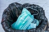 Cooperativas de reciclagem alertam para descarte incorreto de máscaras e luvas