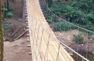 Prefeitura de Ubatuba conclui ponte na Fazenda da Caixa