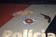 Força Tática do 23º BPM/I prende criminoso com arma de fogo em Aparecida