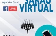 Água Viva Coral promove 'Sarau Virtual' nesta quinta-feira