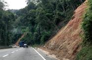 Rodovia dos Tamoios tem risco de interdição no trecho de serra