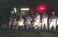 Bombeiros resgatam grupo que se perdeu na trilha do Pico do Diamante, em Pindamonhangaba