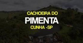 CACHOEIRA DO PIMENTA localizada na cidade de Cunha