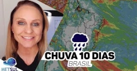Previsão do tempo Brasil - Chuva 10 dias | METSUL | 18/08/2020