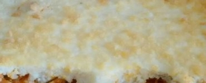 Torta diferente com massa de sobras de arroz