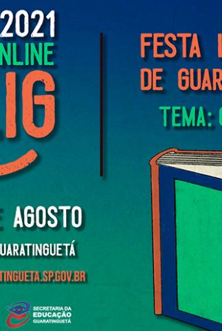2ª Festa Literária de Guaratinguetá - Flig 2021